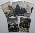 "5 numeri de ""LA MONTAGNE. Revue du Club Alpin Francais"" del 1935"