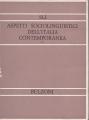 ASPETTI SOCIOLINGUISTICI DELL'ITALIA CONTEMPORANEA / II