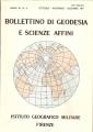 BOLLETTINO DI GEODESIA E SCIENZE AFFINI (N. 4 1981)