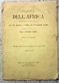 CARTA DELL'AFRICA FISICA E POLITICA (1889)