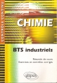 CHIMIE. BTS industriels