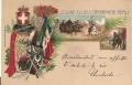 """Cartolina Viaggiata - posta militare - """"LEGIONE ALLIEVI CARABINI"""