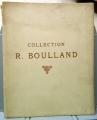 Catalogo d'asta COLLECTION DE M. R. BOULLAND (1925)