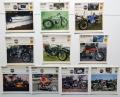 Collezione 10 schede moto TRIUMPH