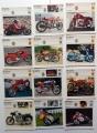 Collezione 12 schede moto MV AGUSTA