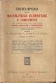 ENCICLOPEDIA DELLE MATEMATICHE ELEMENTARI E COMPLEMENTI vol. II