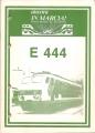 """E 444 (inserto rivista """"ancora IN MARCIA!"""")"""