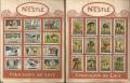Figurine NESTLE - serie VII e serie VIII