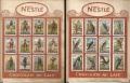 Figurine NESTLE - serie I e serie II