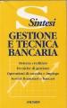 GESTIONE E TECNICA BANCARIA