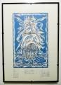 IL VASCELLO FANTASMA (litografia di GUIDO DE BONIS)