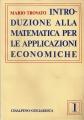 INTRODUZIONE ALLA MATEMATICA PER LE APPLICAZIONI ECONOMICHE1