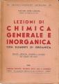 LEZIONI DI CHIMICA GENERALE E INORGANICA