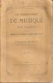 LE CONSERVATOIRE DE MUSIQUE DE PARIS