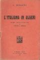 L'ITALIANA IN ALGERI Libretto d'opera