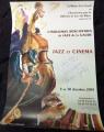 Locandina JAZZ et CINEMA autografata da BORNSTEIN