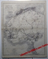 "Mappa originale ""DAS NORDWESTLICHE AFRICA"""
