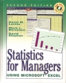 STATISTICS FOR MANAGERS USING MICROSOFT EXCEL (Second edition)