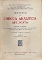 TRATTATO DI CHIMICA ANALITICA APPLICATA vol. I