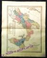 """""""CARTA DELL'ITALIA MERIDIONALE""""  (fine Ottocento)"""